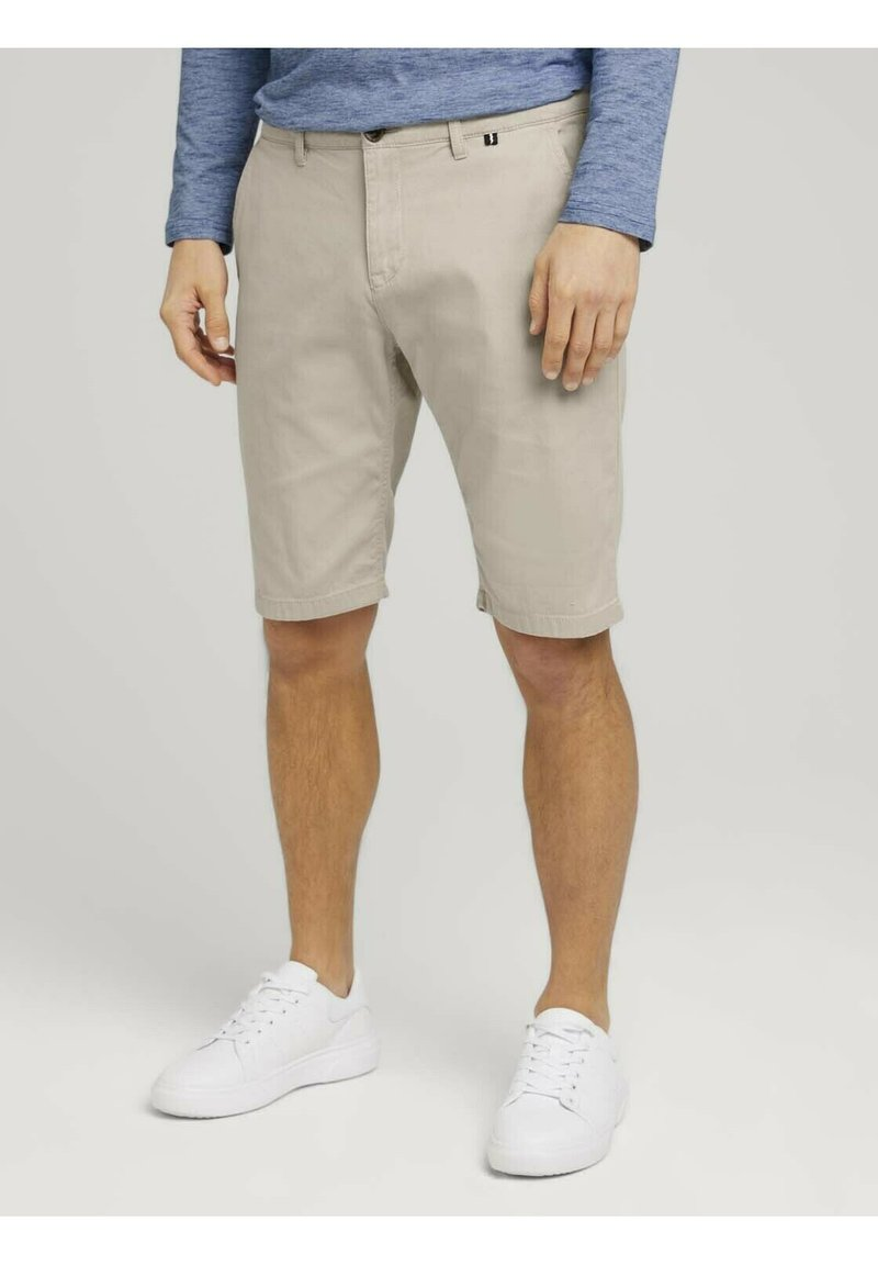 TOM TAILOR - Shorts - sandy dust beige