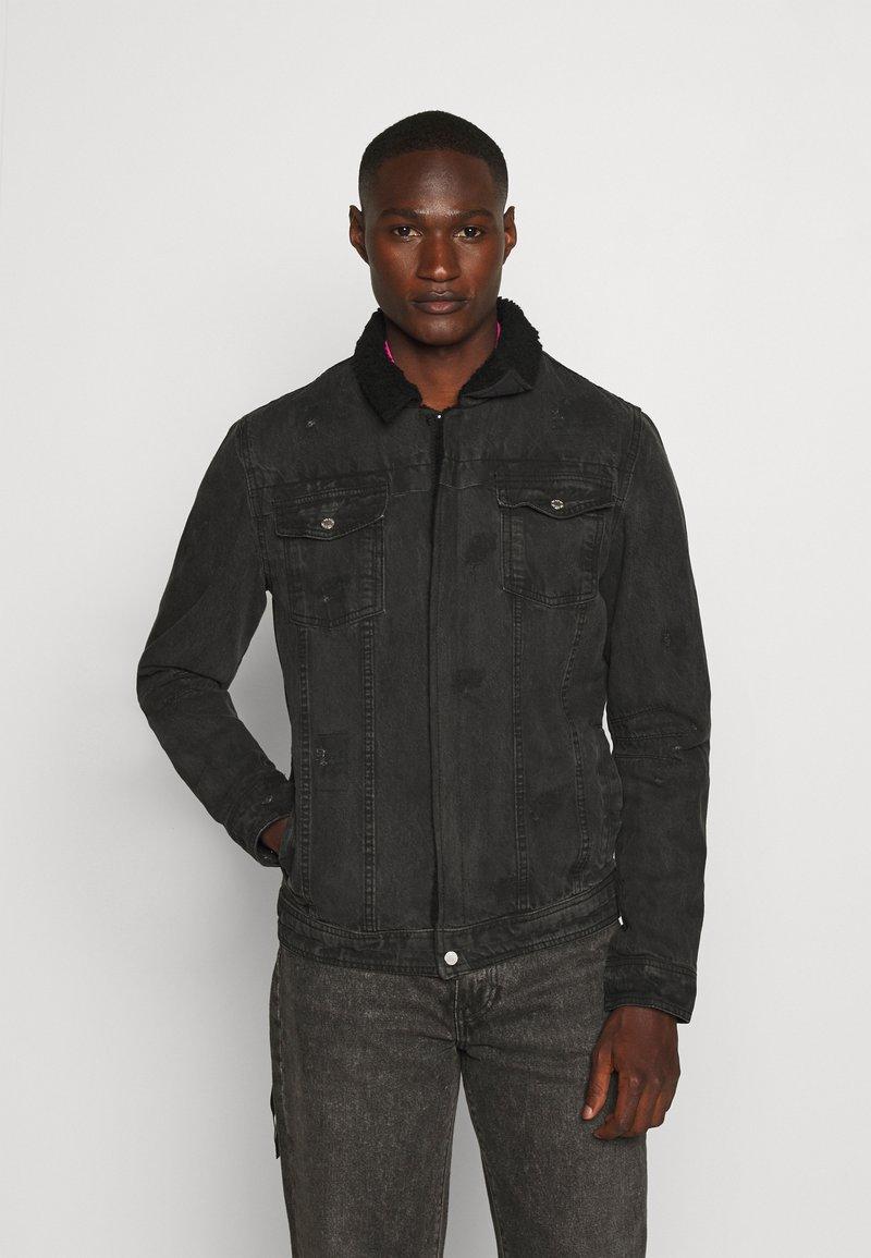 Be Edgy - BEKELVYN  - Denim jacket - black used