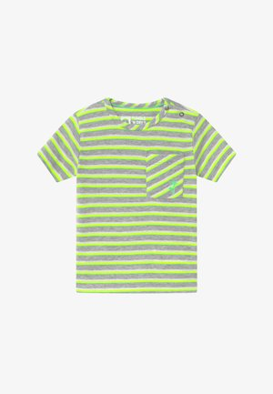 TEIJO - Print T-shirt - safety yellow