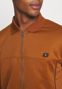 Ben Sherman - TRICOT COLLAR ZIP THROUGH - Training jacket - caramel - 5