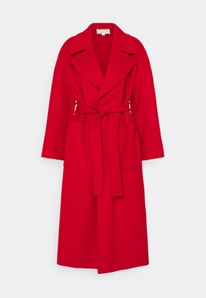 FACE ROBE COAT - Classic coat - crimson
