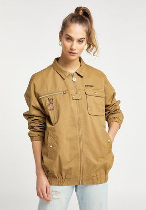 UTILITY - Light jacket - dunkelsand