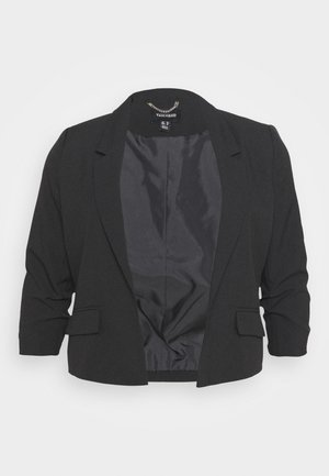 RUCHED SLEEVE - Blazer - black