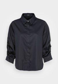 Opus - FAUSI - Button-down blouse - mystic blue - 3