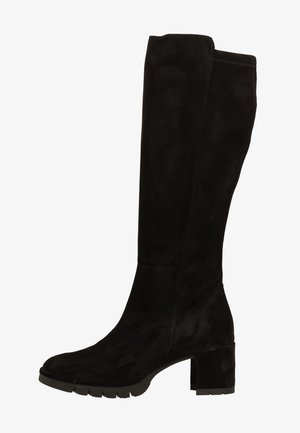 High heeled boots - schwarz 017