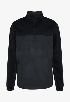 SHIELD VICTORY HALF ZIP - Träningsjacka - black/smoke grey/black