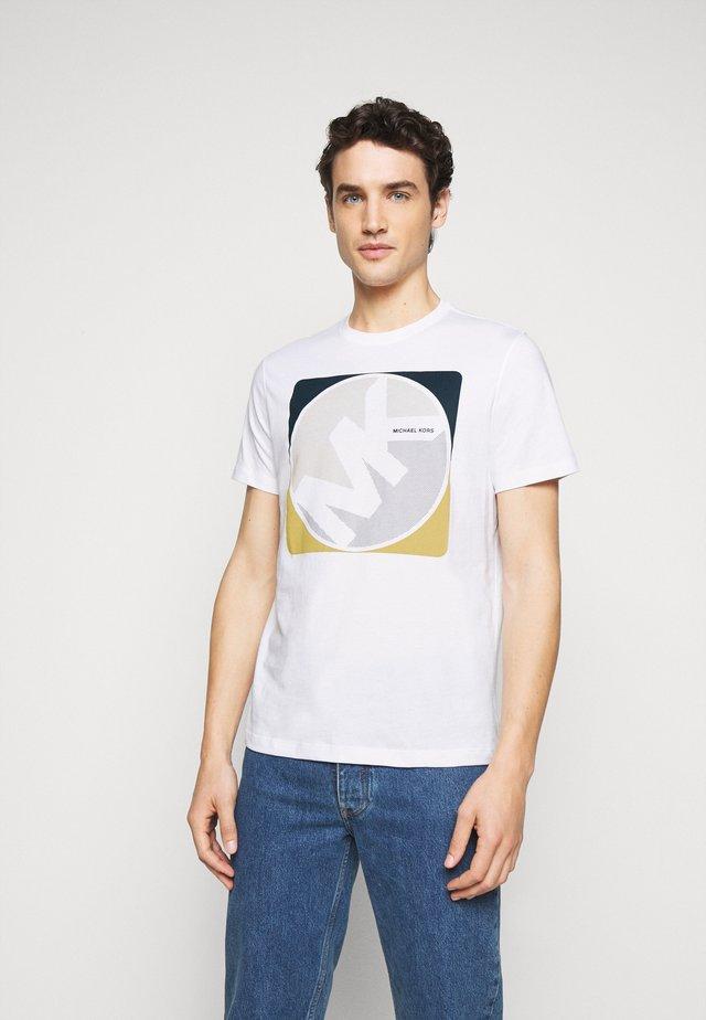 MINIDOT TEE - Camiseta estampada - white