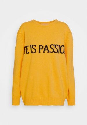 Jersey de punto - fantasy yellow