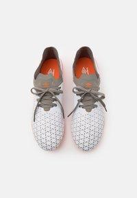 Umbro - VELOCITA V PRO FG - Moulded stud football boots - white/carrot/frost gray - 3