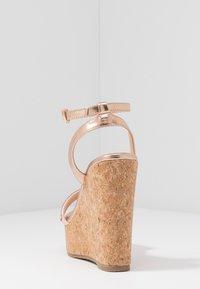 Wallis - SHAYLA - Sandalen met hoge hak - rose gold - 5