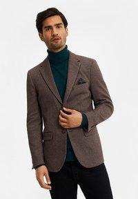 WE Fashion - Blazer jacket - brown - 0