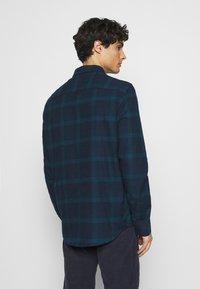 Pier One - Shirt - dark blue/teal - 2