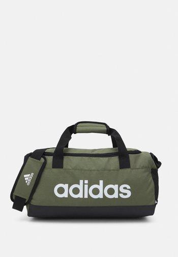 LINEAR DUFFEL S UNISEX - Treningsbag - focus olive/black/white