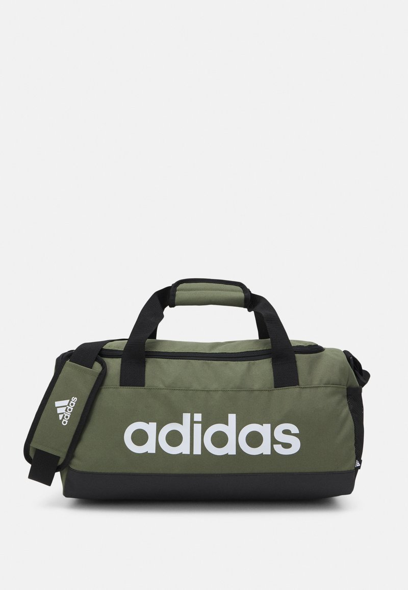 adidas Performance - LINEAR DUFFEL S UNISEX - Treningsbag - focus olive/black/white