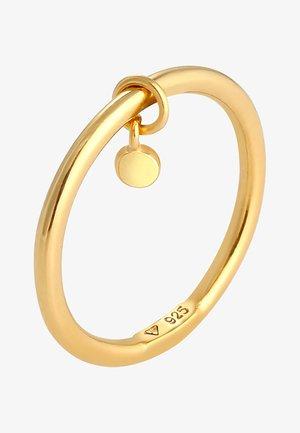 Pierścionek - gold
