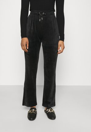 ONLLAYA SWEET FLARED PANT - Kalhoty - black