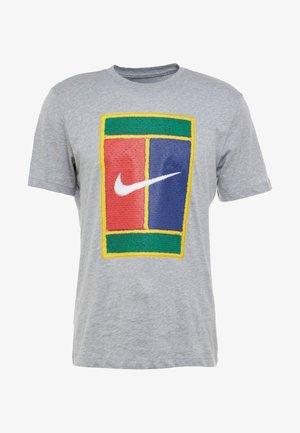 TEE COURT - T-shirts print - grey heather