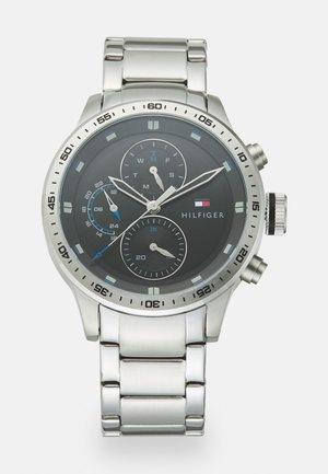 TRENT - Montre - silver-coloured/black