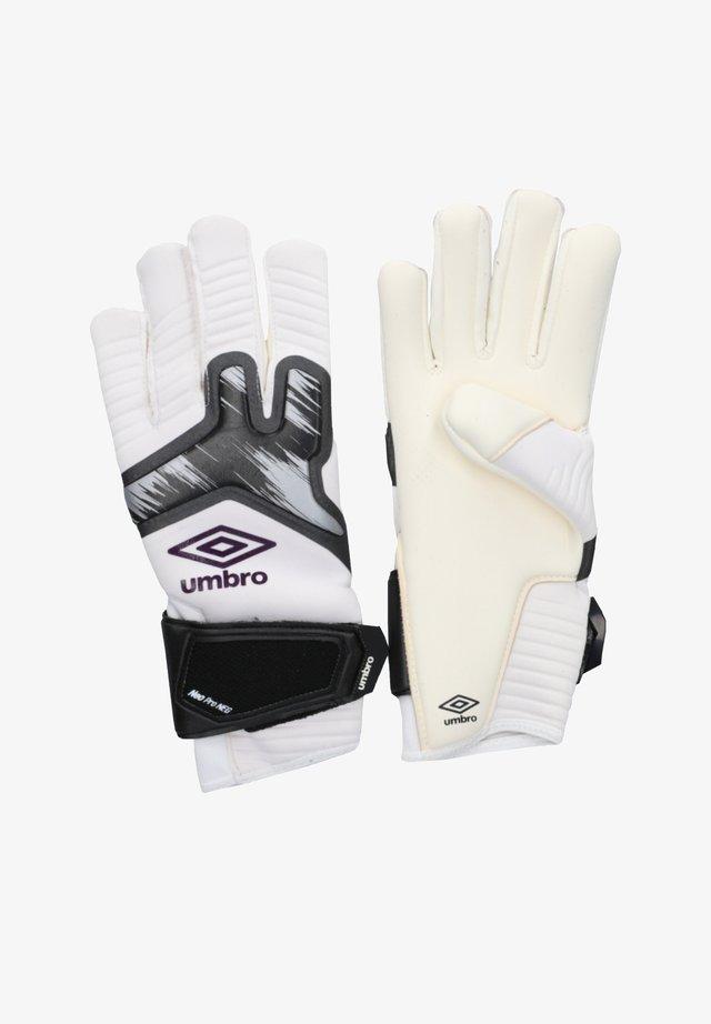 Goalkeeping gloves - weisslila