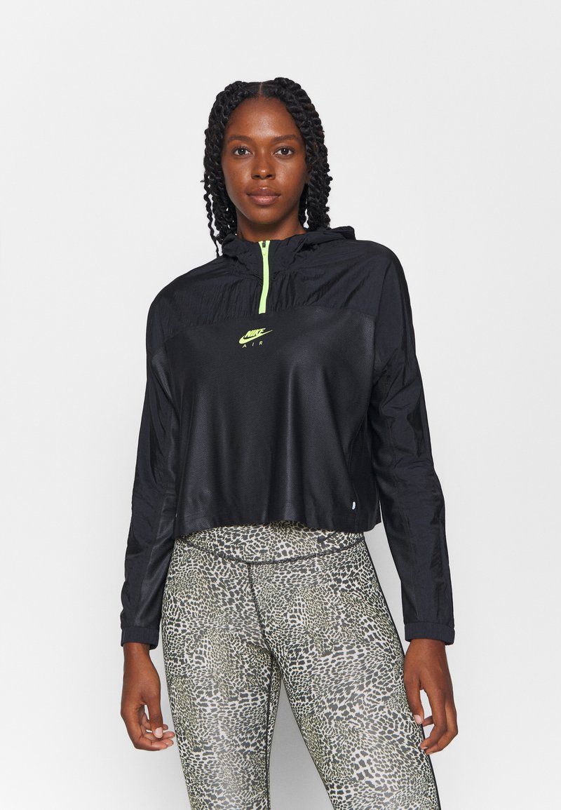 Nike Performance - AIR - Sports jacket - black/volt