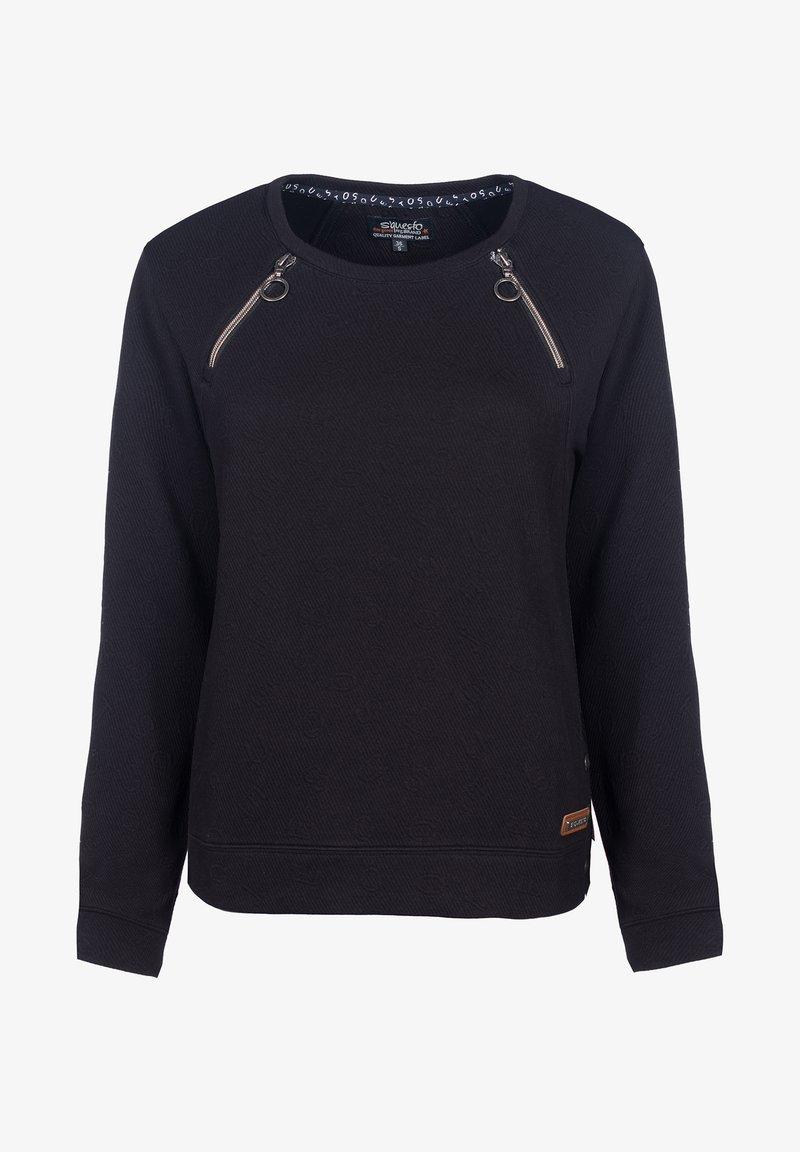S'questo - Sweatshirt - black