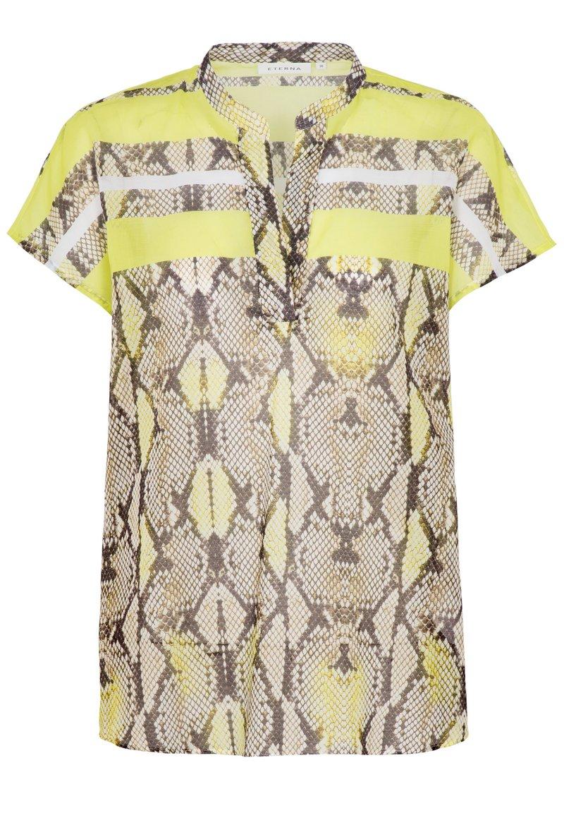 Eterna - Button-down blouse - neongelb