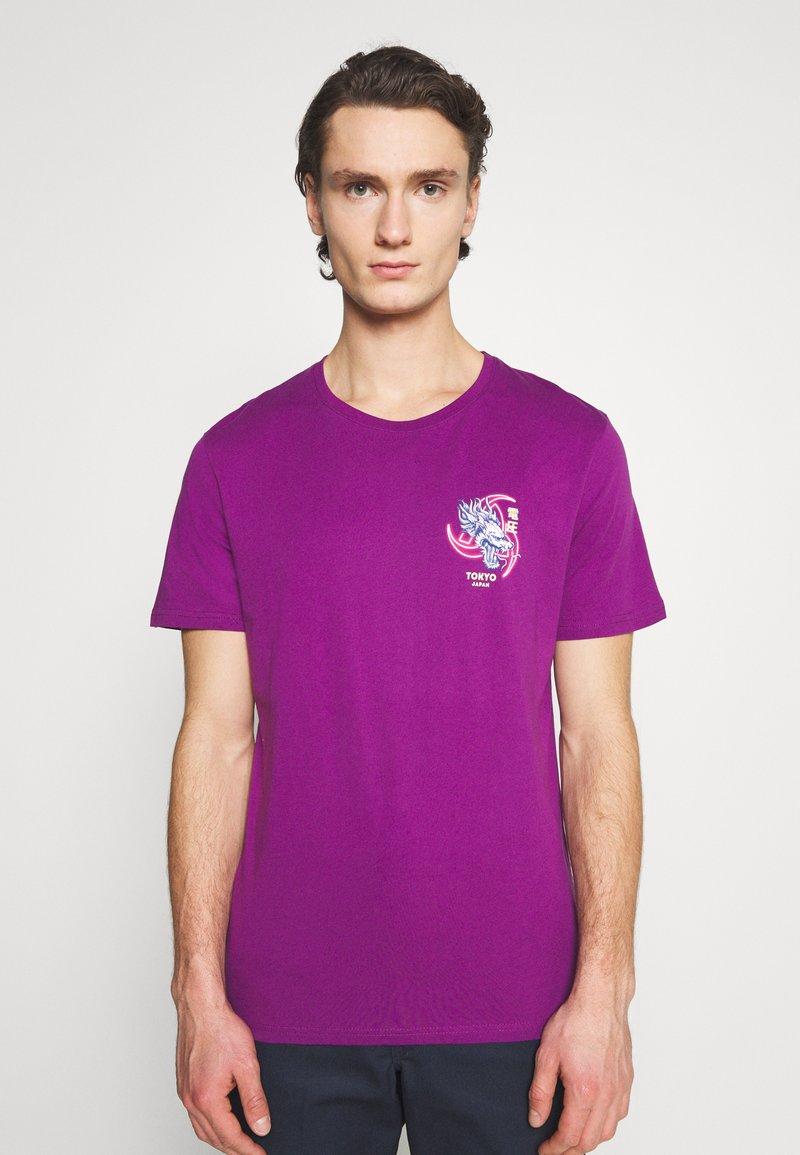 YOURTURN - UNISEX - T-shirt med print - purple