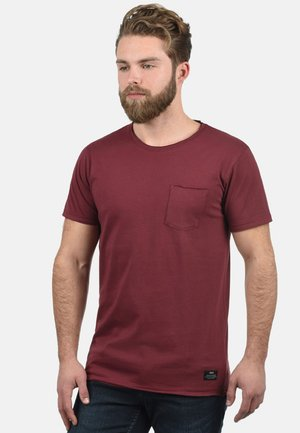 ANDREJ - Jednoduché triko - wine red