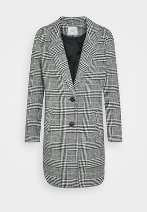 JDYEMMA CHECK - Classic coat - cloud dancer
