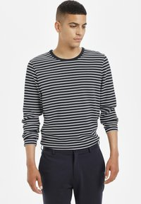 Matinique - Long sleeved top - dark navy - 0