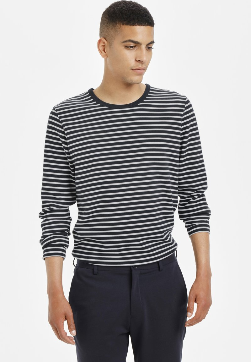 Matinique - Long sleeved top - dark navy
