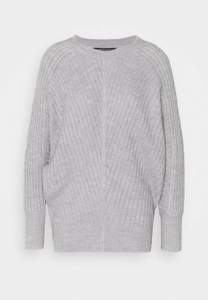 BATWING CREW NECK - Jumper - light grey