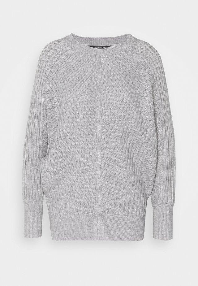 BATWING CREW NECK - Jumper - light grey