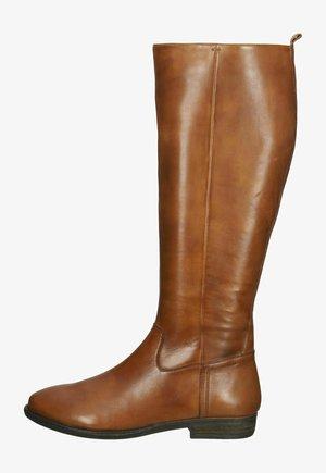Laarzen - cognac leather