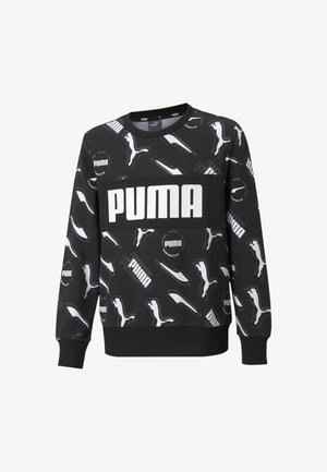 ALPHA - Sweatshirt - puma black