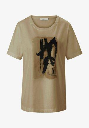 T-shirt print - pfirsich