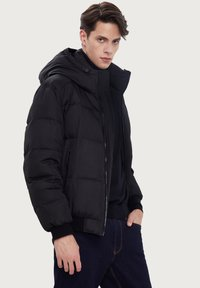 Finn Flare - Down jacket - black - 4