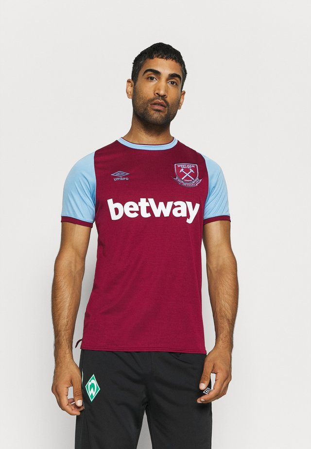 WEST HAM HOME - Klubbklær - new claret/vista blue