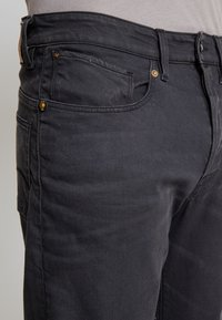 G-Star - 5650 3D RELAXED TAPERED - Relaxed fit jeans - kamden grey stretch denim - dry waxed pebble grey - 5