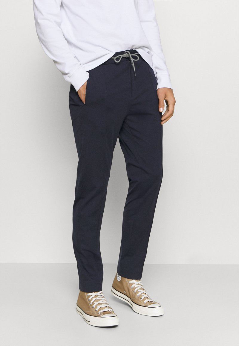 Tommy Hilfiger Tailored - FLEX TRACK SLIM FIT PANT - Trousers - blue