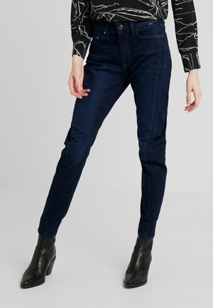 TINA - Jeans Tapered Fit - deep sateen glam