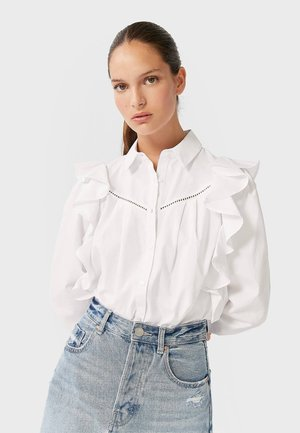 MIT VOLANT  - Košile - white