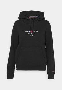 CROP TIMELESS HOODIE - Sweatshirt - black