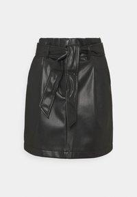 Vero Moda Petite - VMSOLAMYNTE SHORT SKIRT - A-line skirt - black - 0