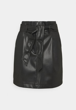 VMSOLAMYNTE SHORT SKIRT - A-line skirt - black