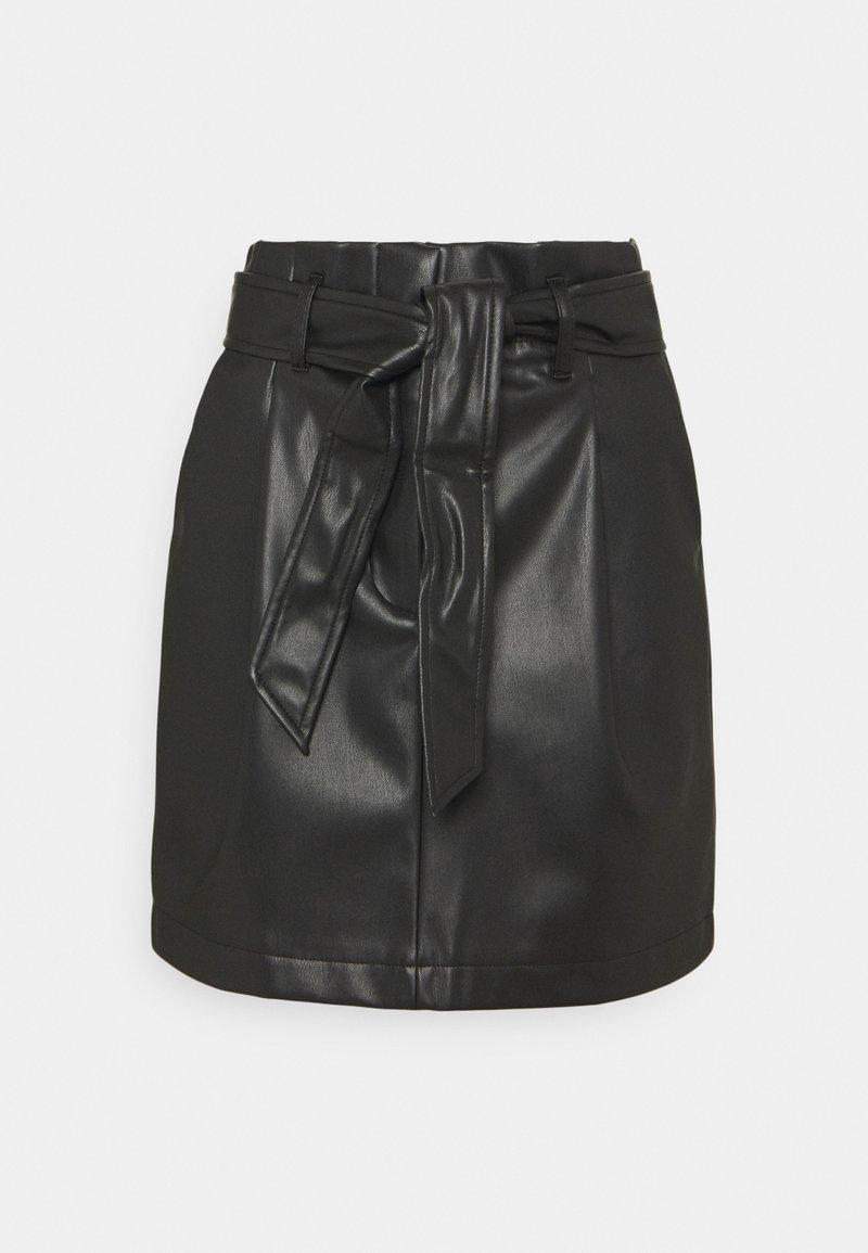 Vero Moda Petite - VMSOLAMYNTE SHORT SKIRT - A-line skirt - black