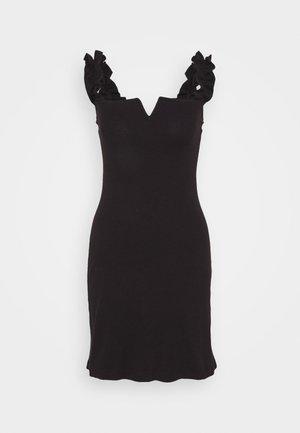 SIYAH - Sukienka z dżerseju - black
