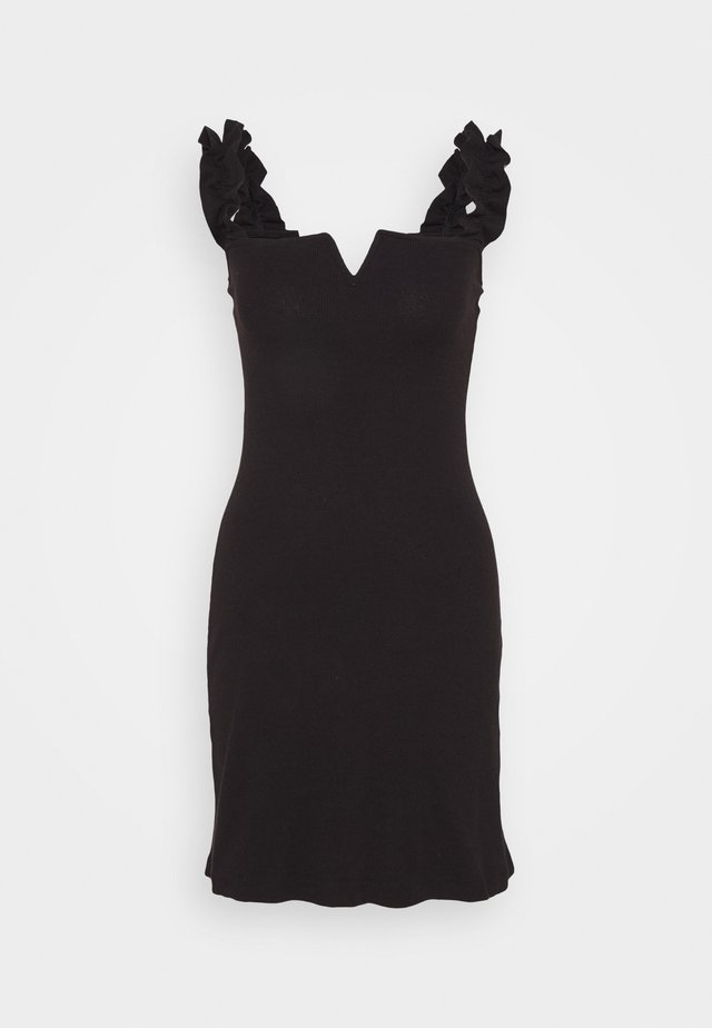 SIYAH - Jersey dress - black