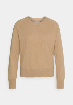 RECYCLED - Sweter - timeless camel