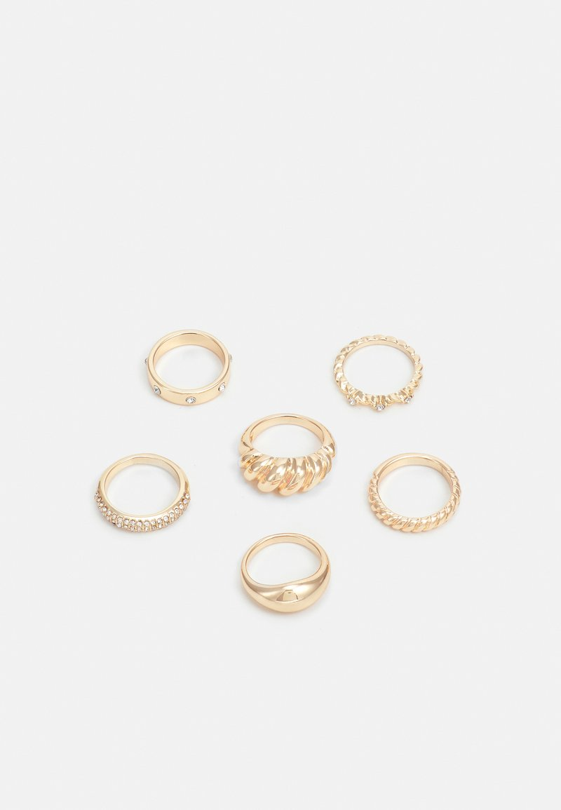 Lindex - 6 PACK - Ring - gold-coloured